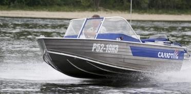 """Алюминиевые лодки """"Wellboat"""" и """"Салют"""""""
